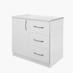 Sunrise 3-Drawer Dresser without Mirror