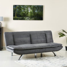 Joyfull Armless 3-Seater Sofa Bed