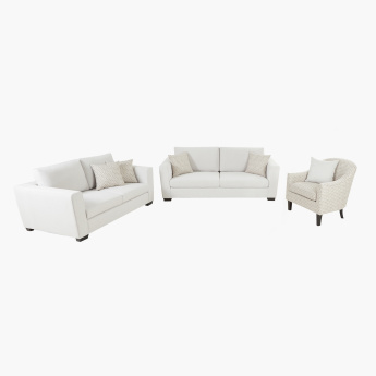 Lawrence Single Seater Sofa with Cushion