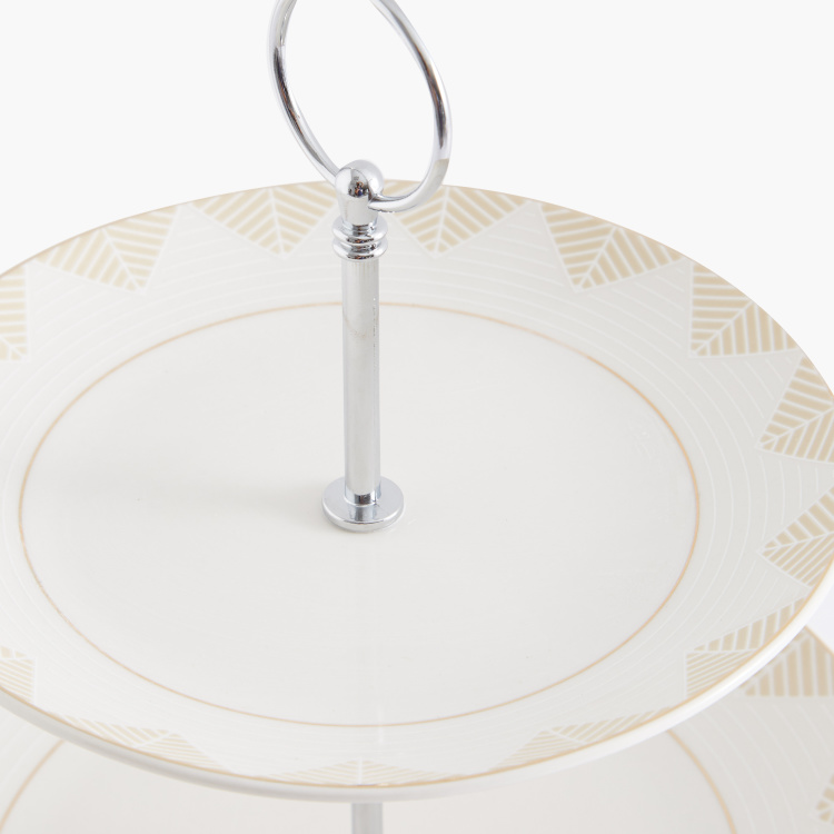 Medallion 3-Tier Cake Stand