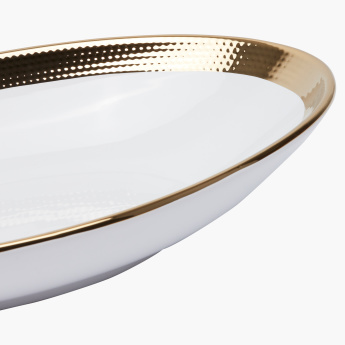 Aura Oval Serving Bowl - 40 cms