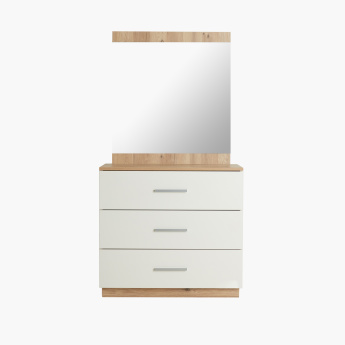 Moonlight 3-Drawer Dresser without Mirror