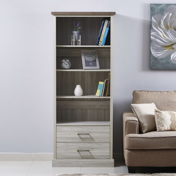 Angelic Bookcase with 2 Drawers