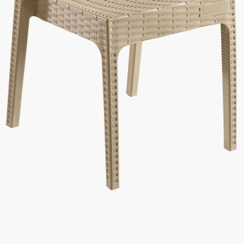 Elisa Textured Rattan Chair