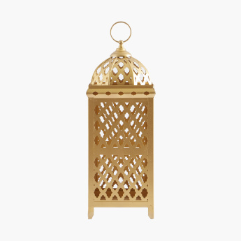 Moroccan Lantern with Cutouts