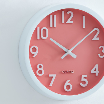 Mellow Wall Clock - 25 cms