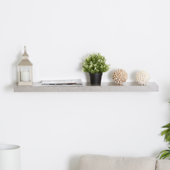 Cementino Rectangular Wall Shelf