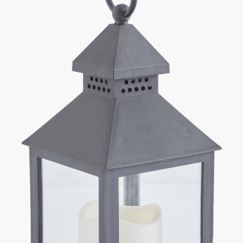 Lantern with LED Candle Light