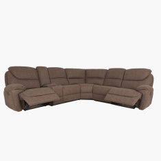 Kansas 5-Seater Recliner Corner Sofa