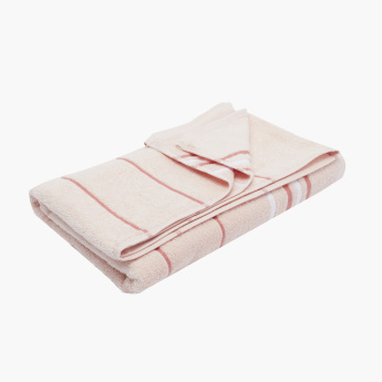 Elementry Textured 2-Piece Bath Towels Set - 70x140 cms