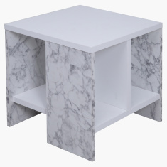 Bianca High Gloss End Table