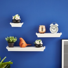 Matilda 3-Piece Plastic Matte Shelf