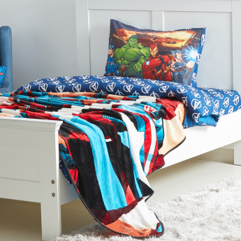 Avengers Printed Flannel Blanket - 160x220 cms