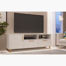 Salvador 1-Door Low TV Unit for TVs up to 65 inches