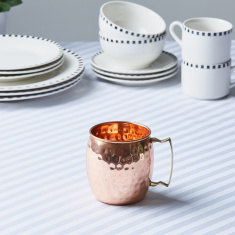 Essence Copper Mule Mug with Hammered Finish - 400 ml