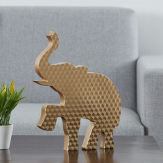 Facets Elephant Figurine