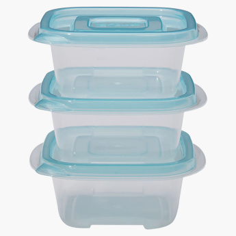 Lock & Lock 3-Piece Rectangular Container - 250 ml