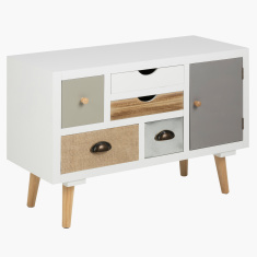 Morocco 5-Drawer 1-Door Console Table