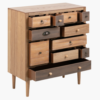 Morocco 11-Drawer Console Table
