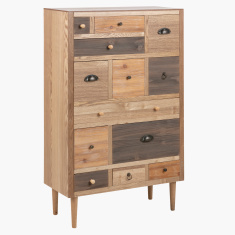 Morocco 13-Drawer Console Table