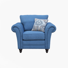 Harvest 1-Seater Armchair with Scatter Cushion