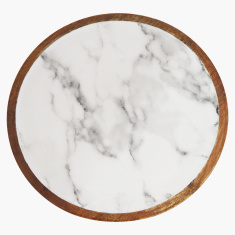 Indie Vibe Wooden Snack Plate