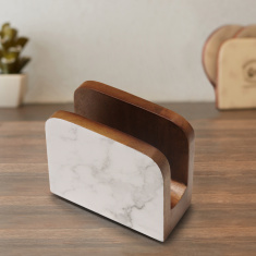 Indie Vibe Wooden Tissue Holder