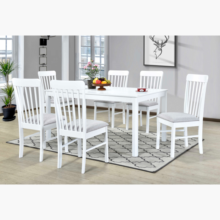 Mercury 6 Seater Dining Table Set