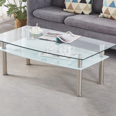 Memphis 2-Tier Coffee Table
