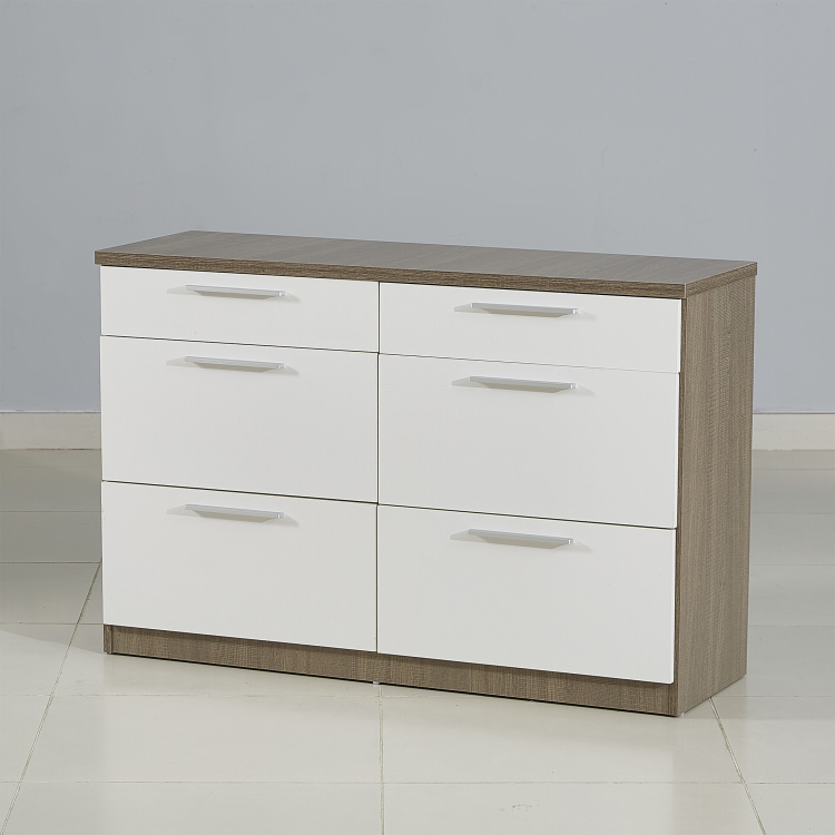 Ireland 6-Drawer Master Dresser
