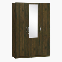 Kulltorp 3-Door Wardrobe with Mirror