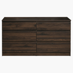 Kulltorp 6-Drawer Double Dresser