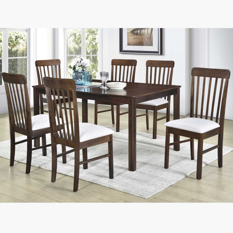 Boston 6 Seater Dining Table Set