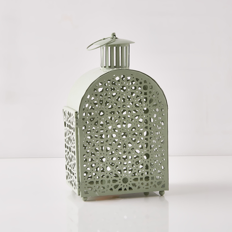 Fiona Candle Holder with Cutout Detail