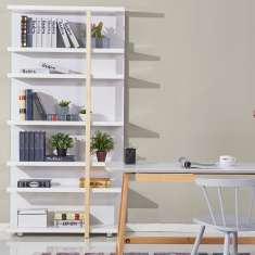 Sweden Bookcase with 7-Shelves