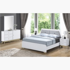 Sweden 5-Piece King Bedroom Set - 180x200 cms