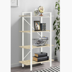 Lucas Bookcase with Shelves