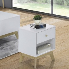 Sweden End Table with 1-Drawer