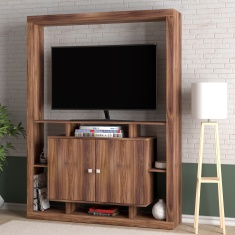 Clova 2-Door Wall Unit for TVs up to 50 inches
