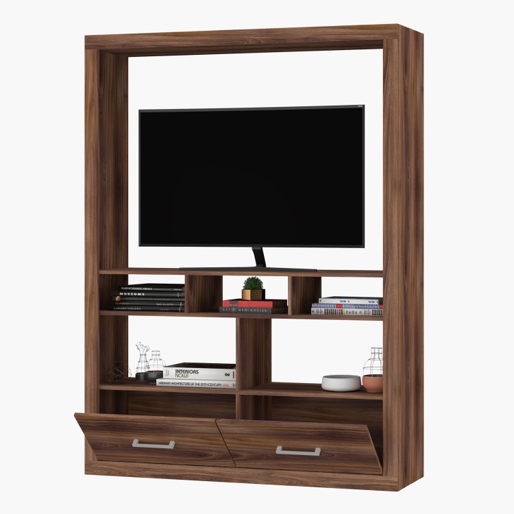 Elgin 2-Drawer Wall Unit for TVs up to 48 inches