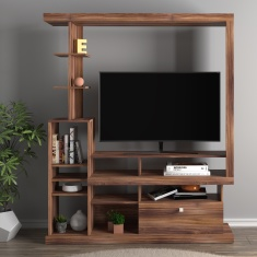 Turrif 1-Drawer Wall Unit for TVs up to 48 inches