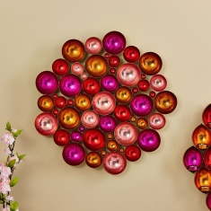 Zoha Metal Flower Tealight Table and Wall Holder