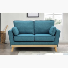 Sweden 2-Seater Sofa with 2 Cushions