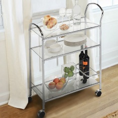 Memphis 3-Tier Serving Trolley