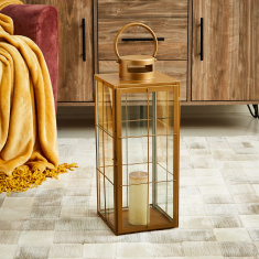 Quartz Block Metal Lantern