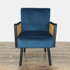 Sweden Velvet Accent Chair