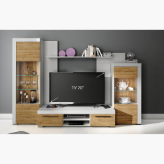 Avio Wall Unit for TVs up to 70 inches