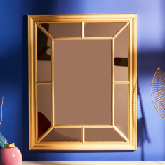 Shiraz Square Mirror Pane - 61x76x2 cms