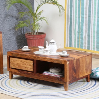 Arya Coffee Table with Drawer