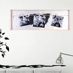 Amore Pele-Mele Sequin Embellished Frame with Clips